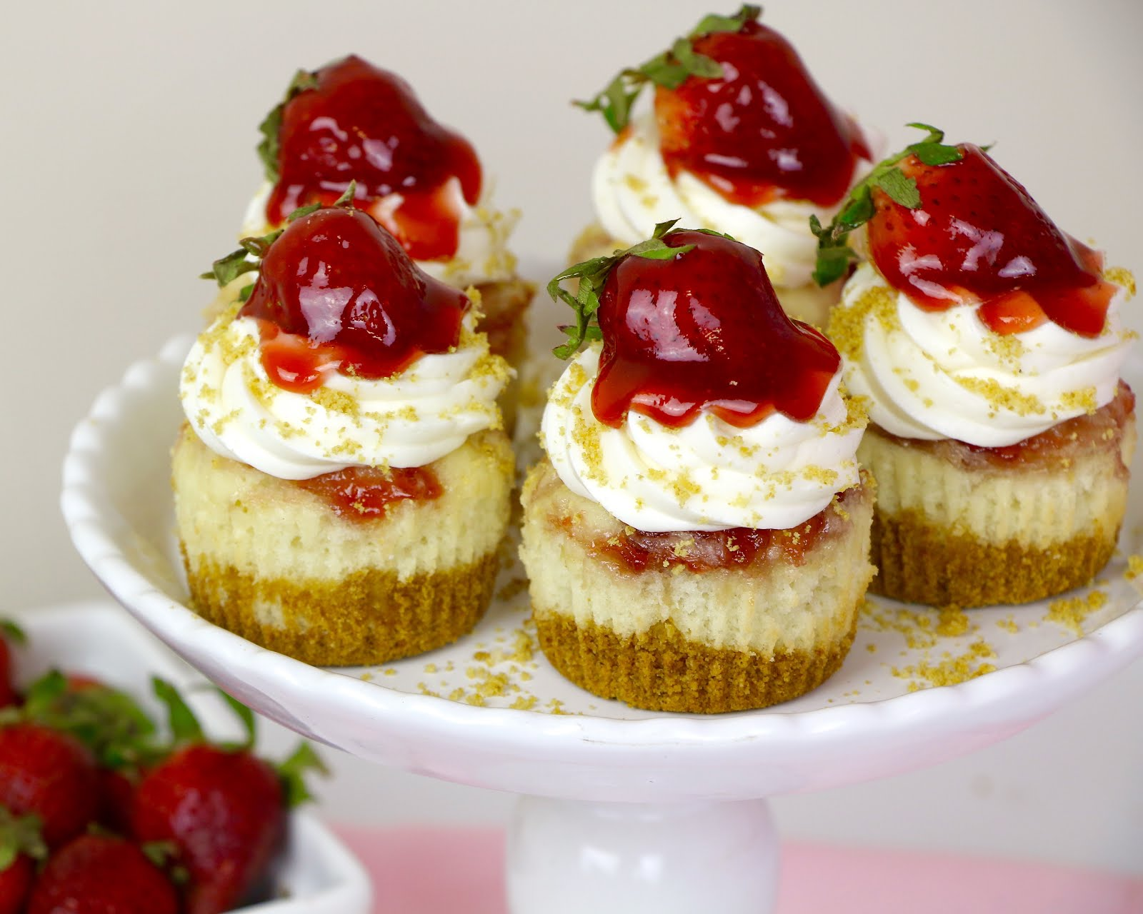 The Perfect Strawberry Cheesecake: A Mother's Day Special