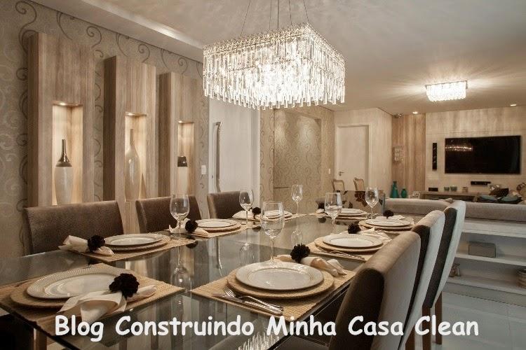 #474316 Construindo Minha Casa Clean Salas de Jantar Maravilhosas Saiba como Decorar 750x500 píxeis em Ambientes De Sala De Estar Jantar Modernos E Sofisticados
