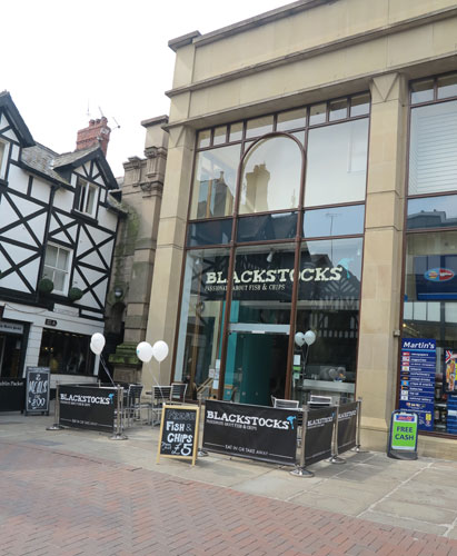 Blackstocks Fish & Chips Chester Cheshire