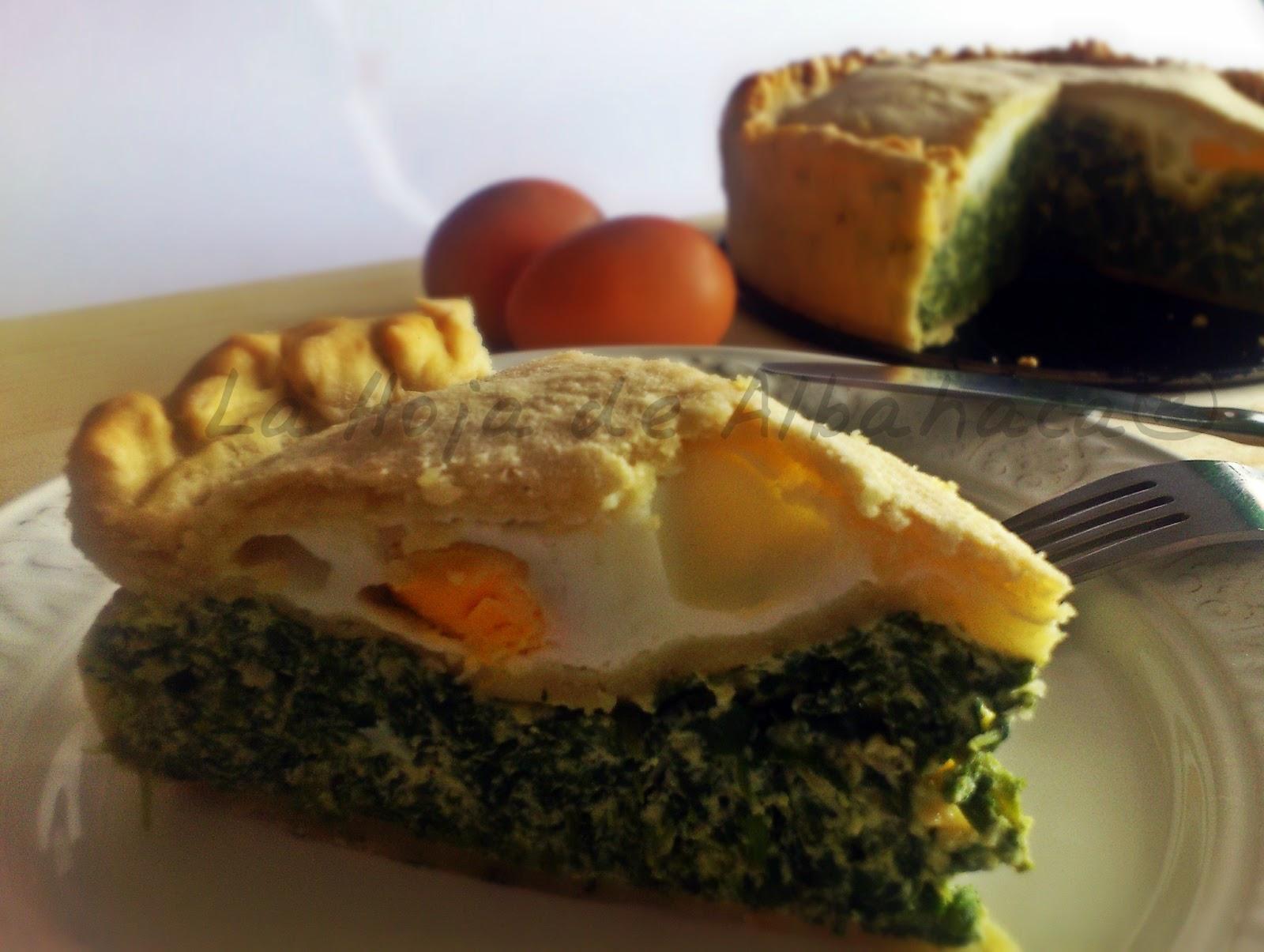Torta Pasqualina, tarta de acelga y ricotta