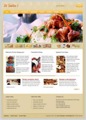 Share template JV Sello I - Joomla 1.5