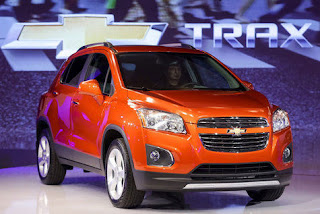 A New Crossover SUV Chevy Ready To Pitch.