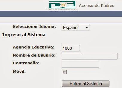 Portal SIE - PADRES