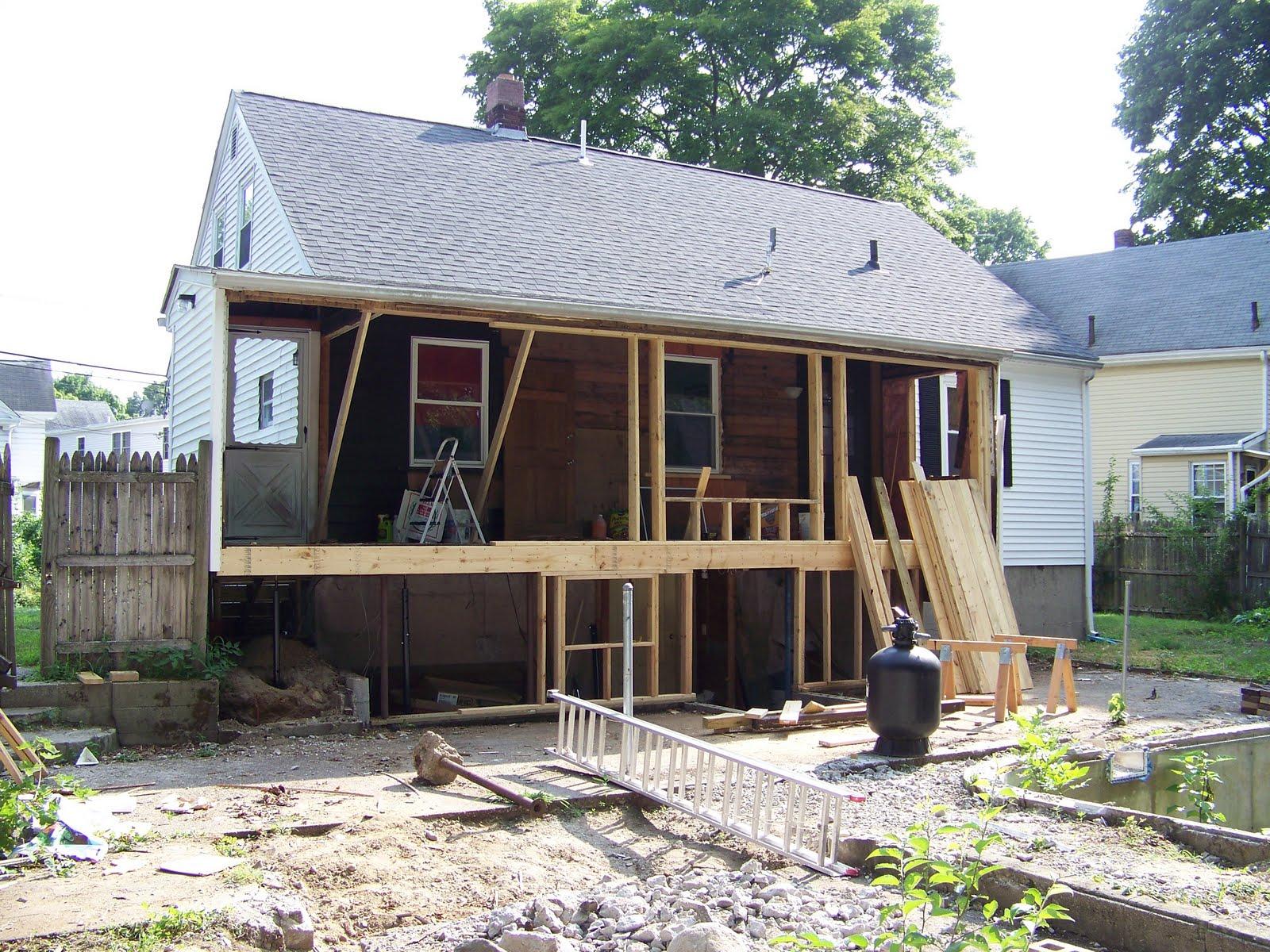 126 Emory Street Renovations 4 Season Porch