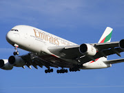 The plane, an Emirates A380 Airbus. NOT going where I wanted to be :( (emirates edc by jibbyjabba)