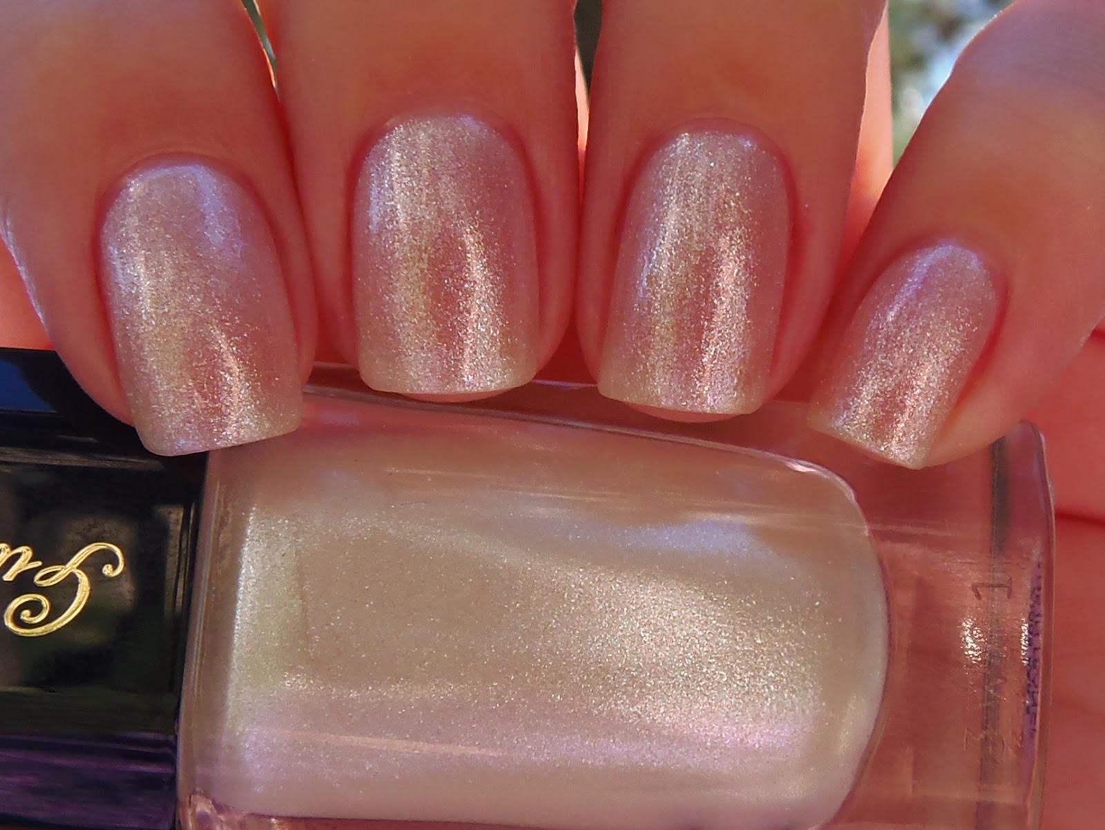 Star dust nail lacquer guerlain 25 - 2 Coats Guerlain Star Dust 862 Dior Gel Coat