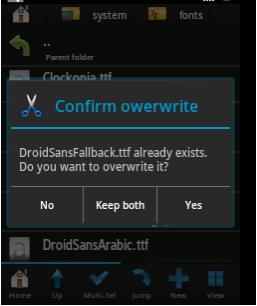 Cara Memperbaiki Huruf Kotak-kotak di Android