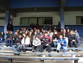 Visita ao estádio  do Grémio  pelos alunos do Gallotti