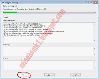 Cara Menggabungkan Subtitle Dengan Video Menggunakan Software MKVToolnix