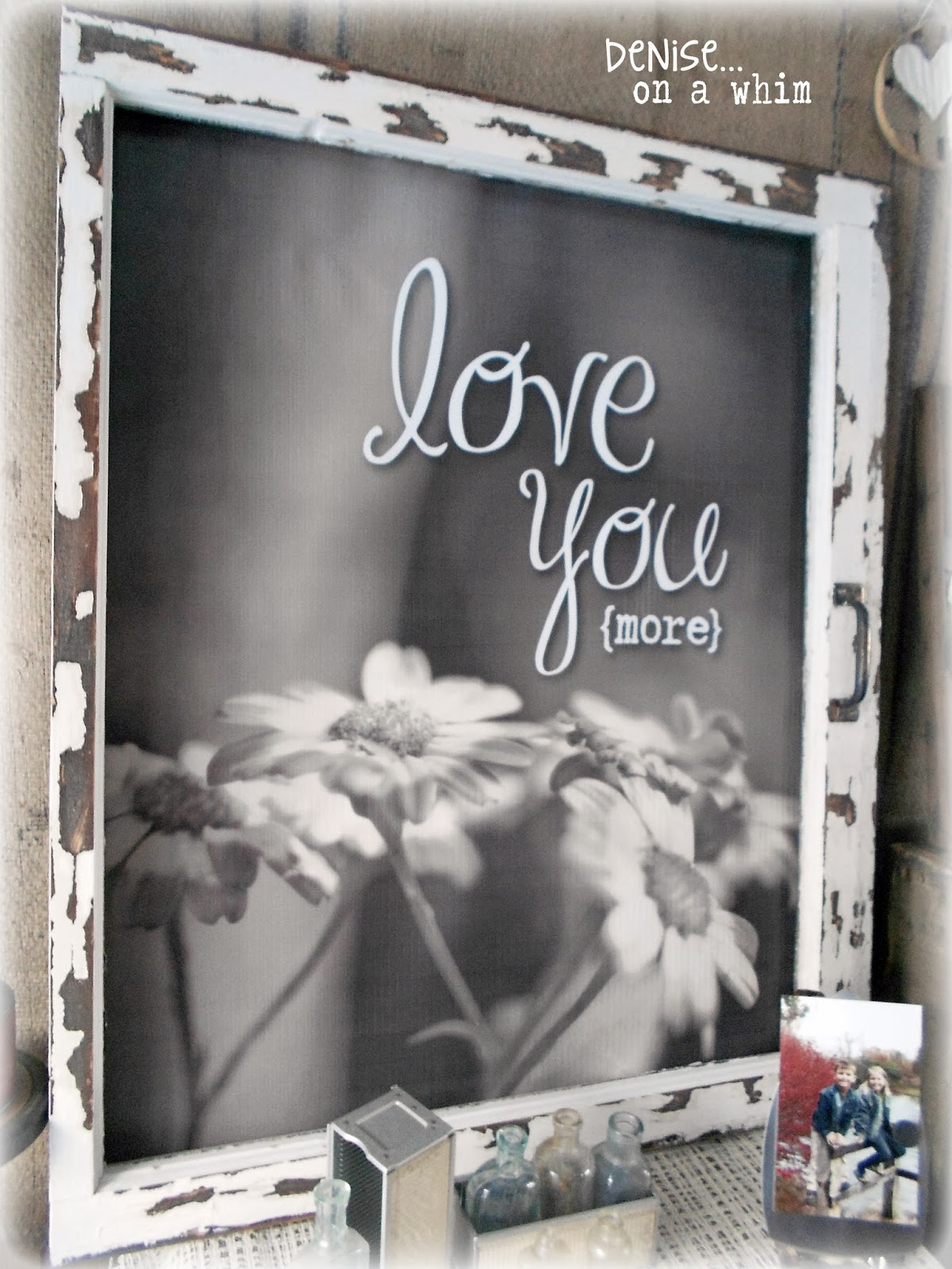 Romantic Photo as Background for a Love Sign via http:/deniseonawhim.blogspot.com