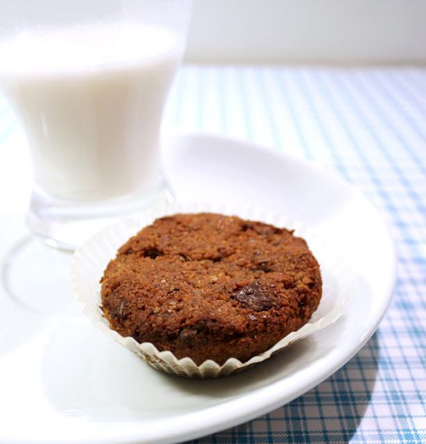 Oppskrift Mandelmuffins Veganske Muffins Uten Egg