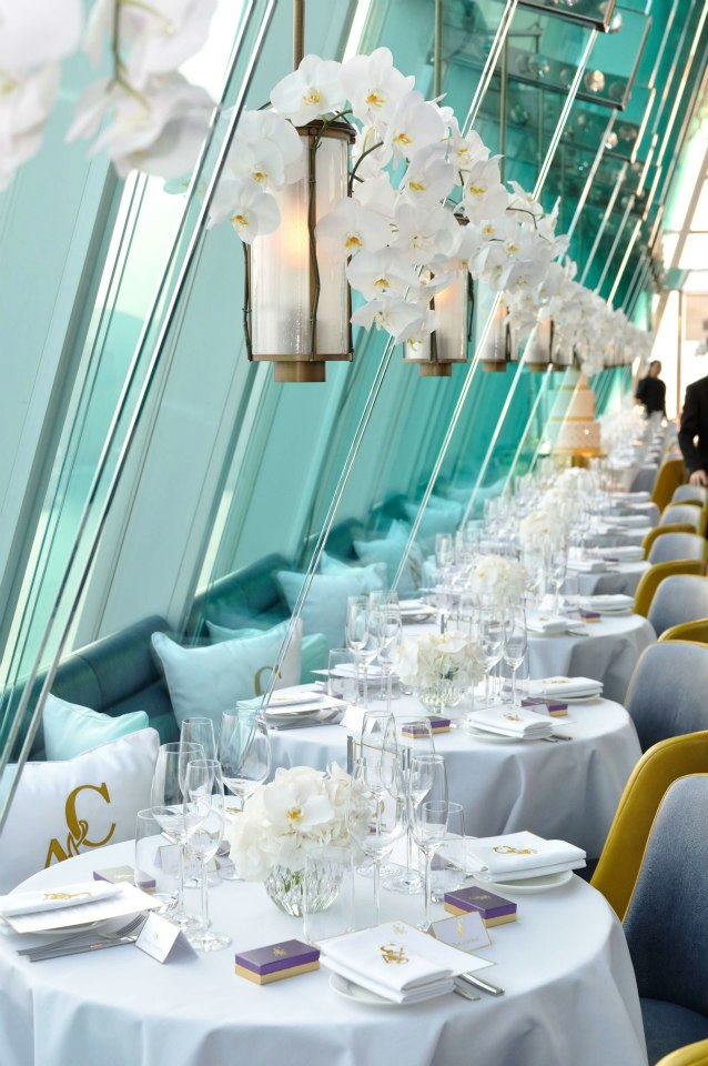 Charming Aqua White Gold Fresh Flower Chandeliers Wedding Decoration In Hong Kong