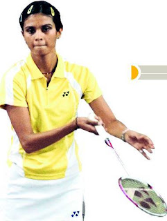 Trupti Murgunde Indian Badminton Player