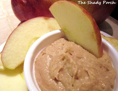 Peanut Butter Dip by The Shady Porch recipe snack appetizer