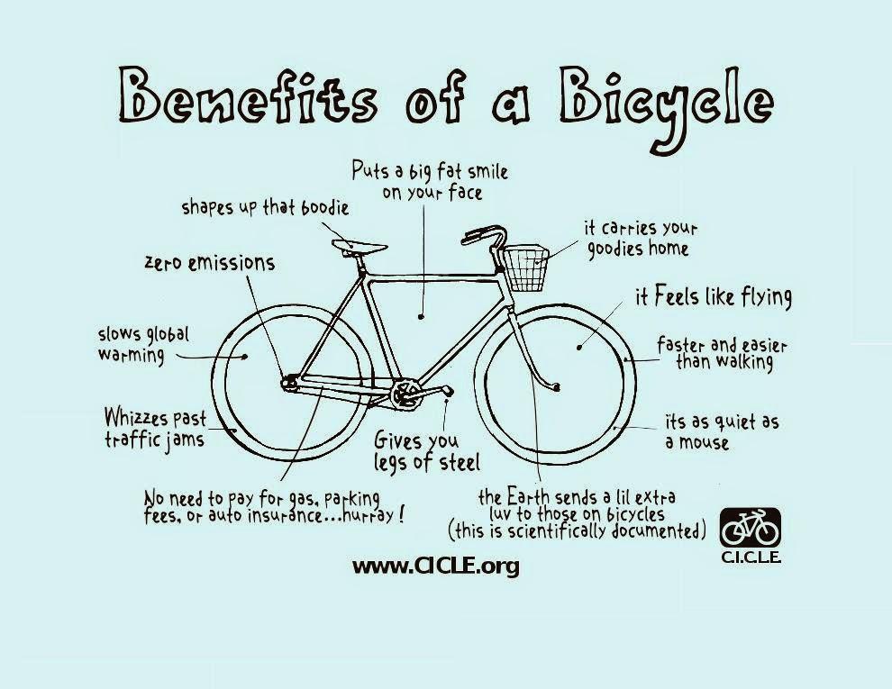 Los Beneficios de la bicicleta