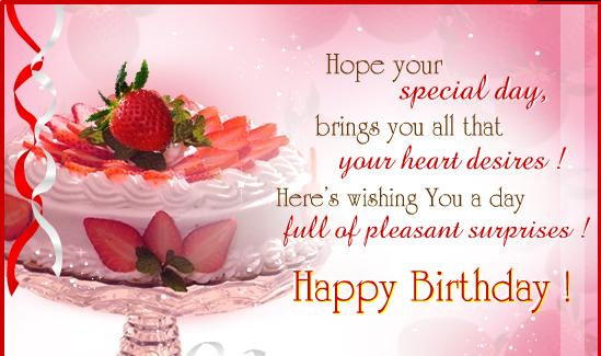happy birthday wishes poems. Happy Birthday In Advance