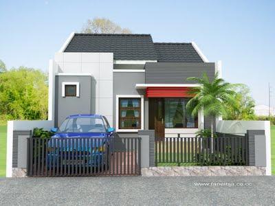 foto foto rumah minimalis on Desain Rumah Minimalis Type 36 Modern | di Rumah Minimalis