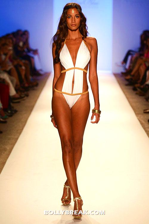 A Lisa Blue creation - Miami Fashion Week Bikini Models Pics on Ramp