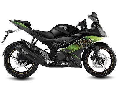 2013 Yamaha R15 V2.0 - Thundering Green