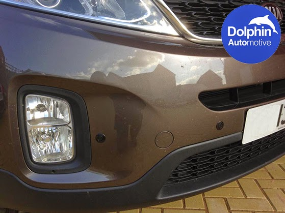 parking sensors fitted to Kia