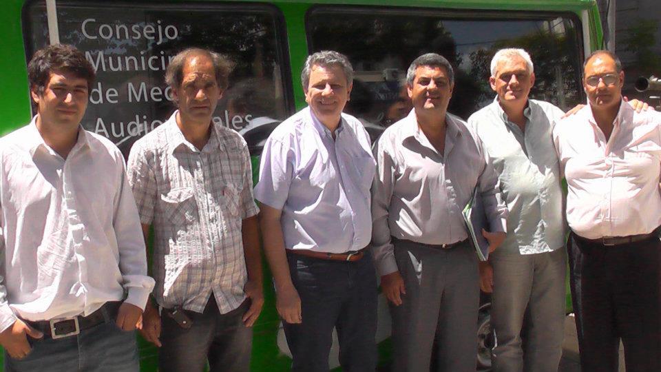 Consejo de medios audiovisuales de avellaneda visita de for Municipalidad la matanza