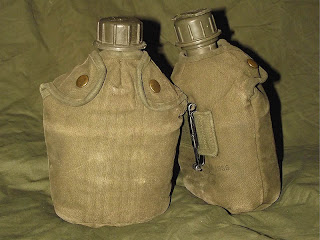 M1956 1 Quart Canteen & Cover