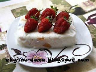 Ягодно-йогуртовое суфле