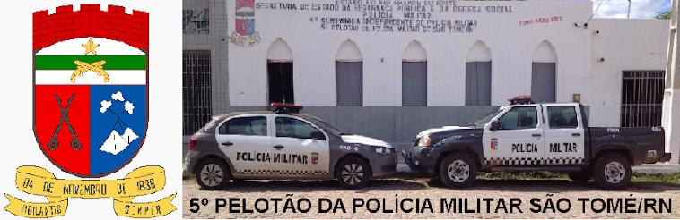 Polícia Militar de São Tomé/RN