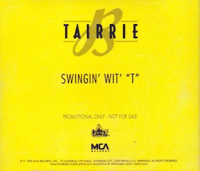"""Tairrie B – Swingin' Wit' """"T"""" (Promo CDS) (1990) (320 kbps)"""