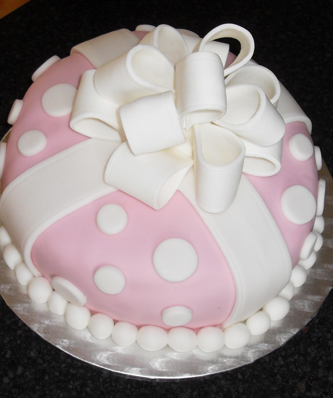 Monkey Birthday Present Cake