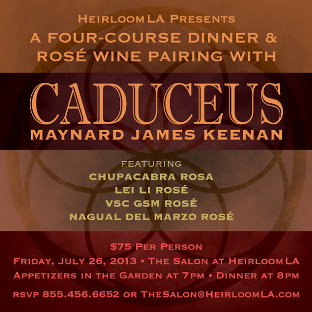 Caduceus Wine Dinner in The Salon