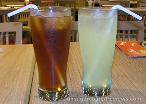 iced tea and lemonade at Mongkok Dimsum & Noodles