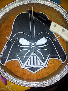 Cortamos silueta Darth Vader