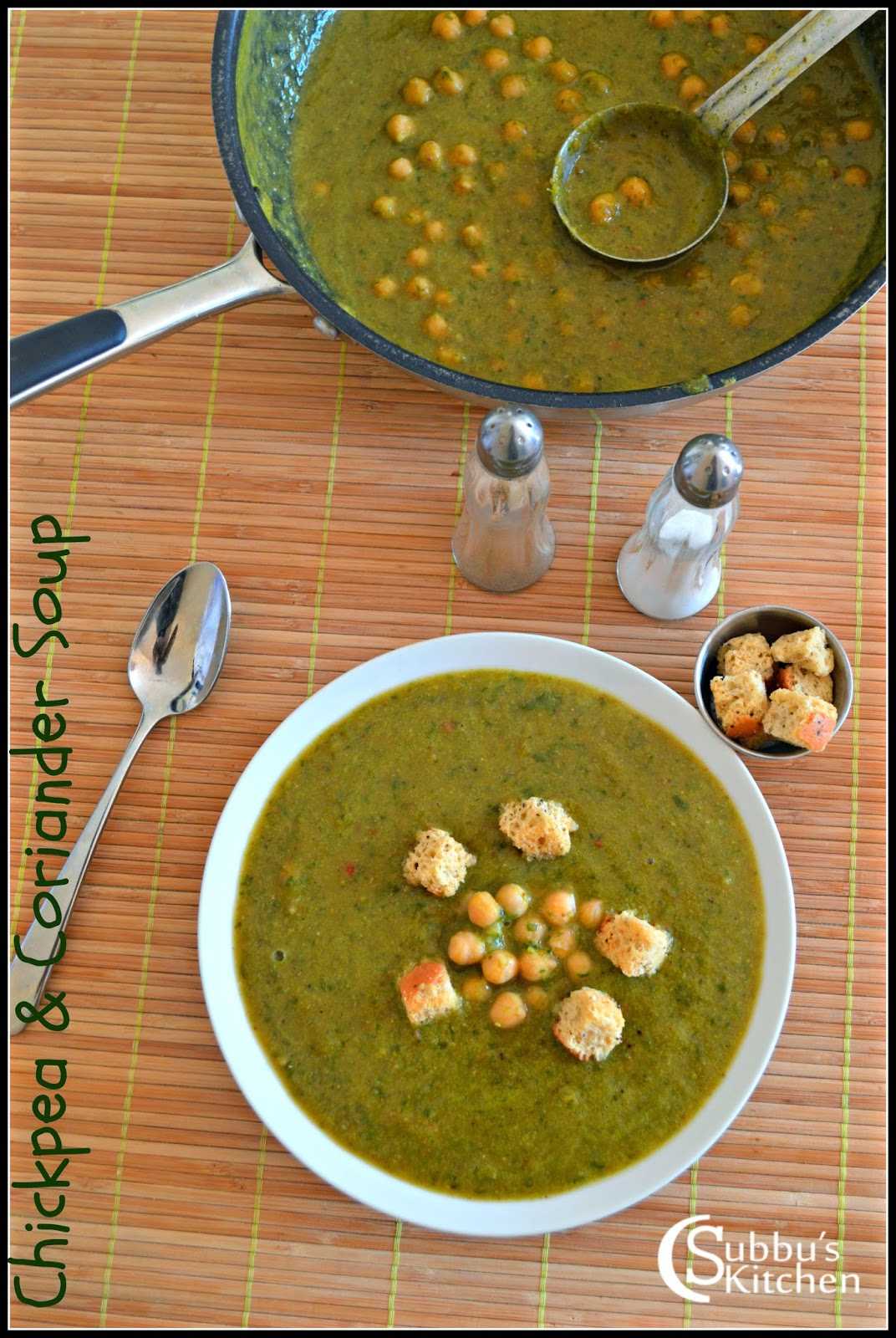 ChickPeas and Coriander Soup