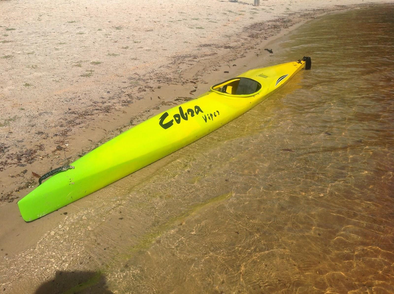 Runalleghany Cobra Viper Racing Kayak For Sale