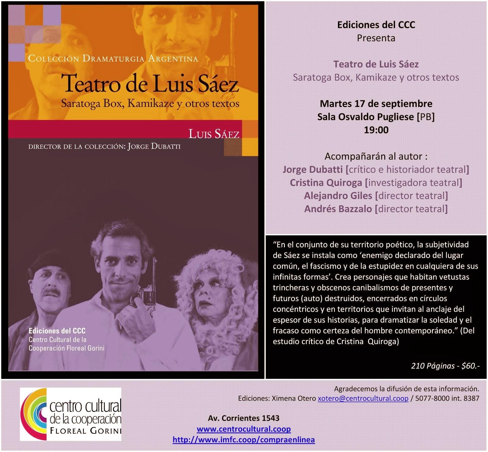 Teatro Luis Sáez