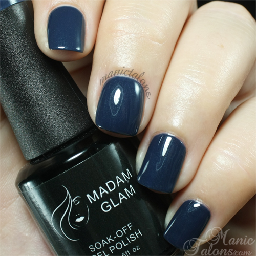 Madam Glam Gel Polish #191 Navy Blue Swatch