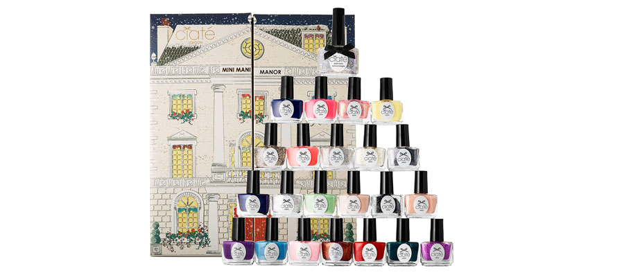 ciate nails advent calendar, beauty advent calendar, advent calendar 2014