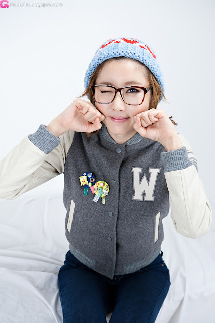 2 Choi Byeol Yee - Winter Style-very cute asian girl-girlcute4u.blogspot.com