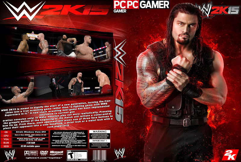 Capa WWE 2K15 PC