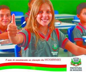 MOGEIRO: 8 anos investindo na educação