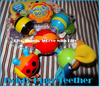 Nuby, Teething Toys, Review, Mommy Blogger, Live, Laugh, & Love with Lilly