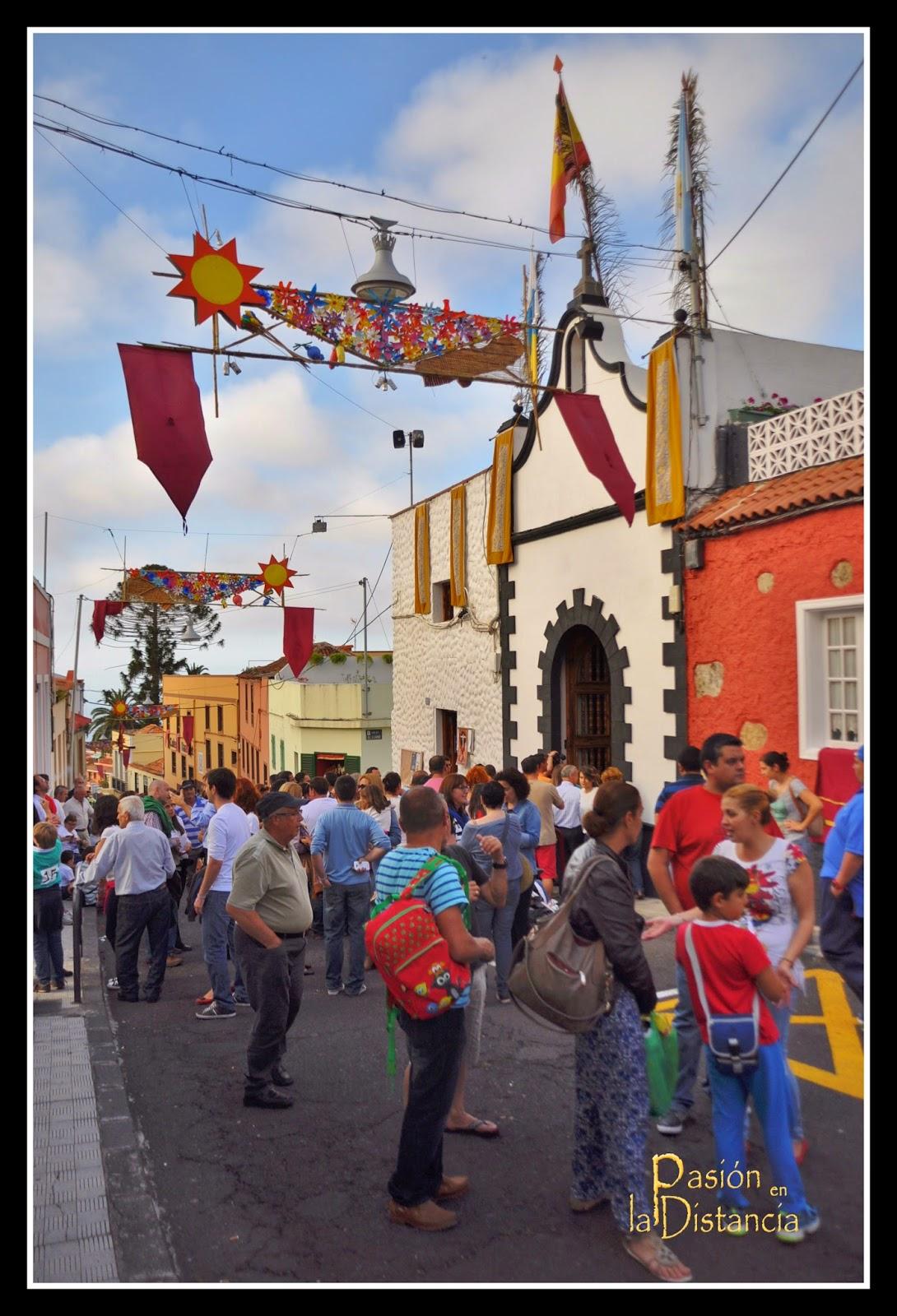 Día de la Cruz en Los Realejos: Capilla de la Cruz de la Calle del Sol 2014
