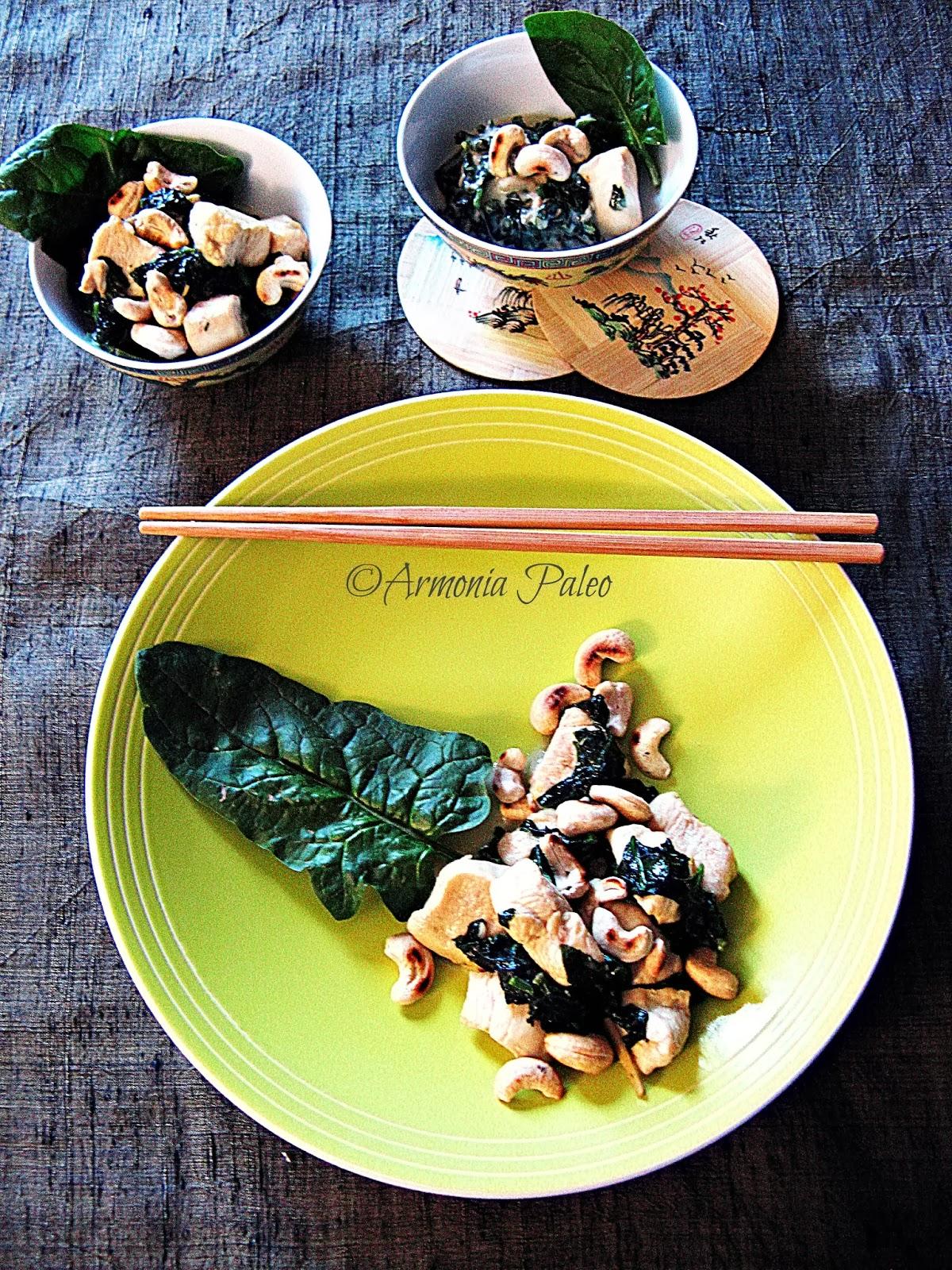 Pollo Thai al Verde di Armonia Paleo