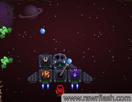 Jogos de nave, aventura, espacial: Galaxy Siege 3