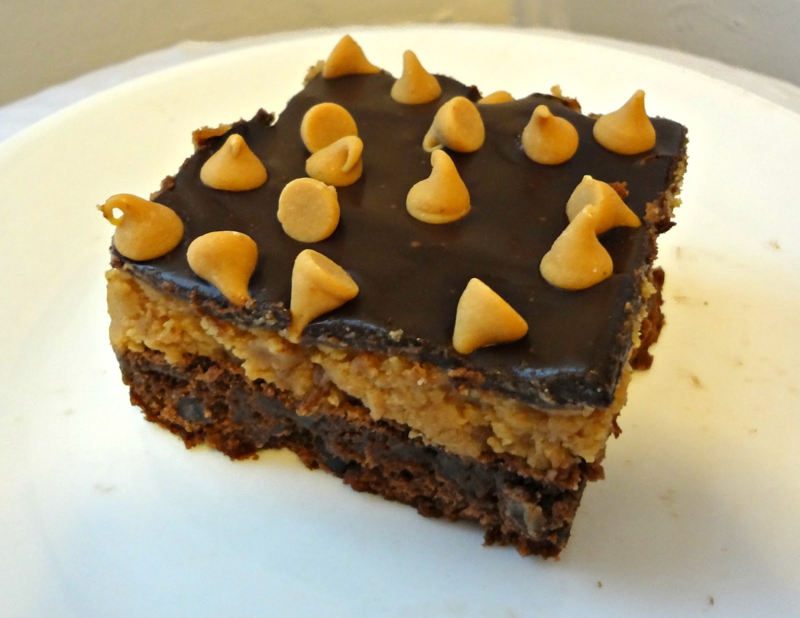 The Cooking Actress: Peanut Butter Cookie Dough Brownies