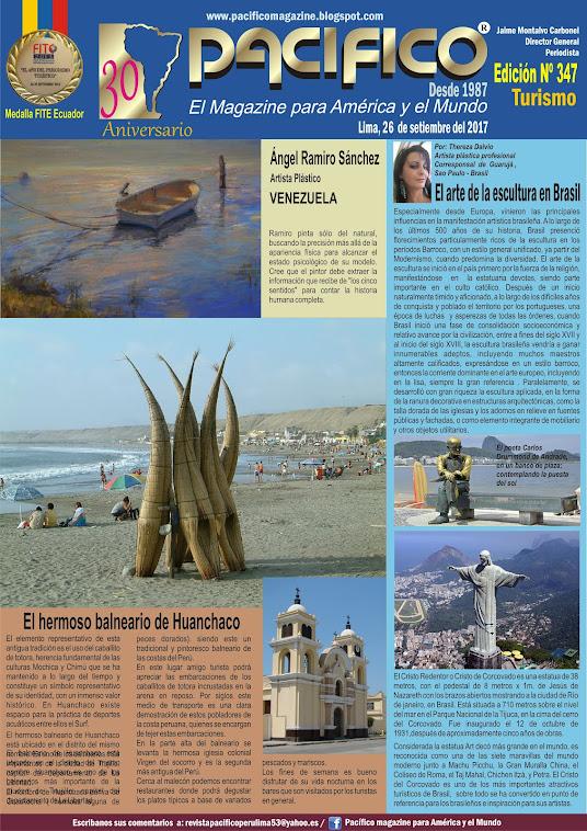 Revista Pacífico Nº 347 Turismo