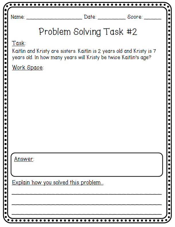 ask math problems Ask students to do surveys, interviews, hands-on research in real-world situations to figure out percentages, differences, and higher-order math skills allow students to make drawings or diagrams to help them understand problems.