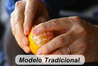 Como comer frutas descascar mexerica tangerina certo