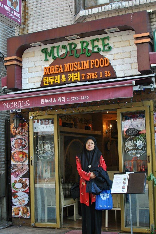 Alhamdulillah dapat merasa makanan Halal Korea ketika di Seoul,